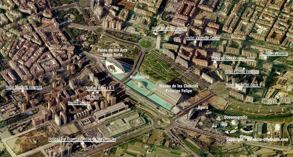 city of arts and sciences tips