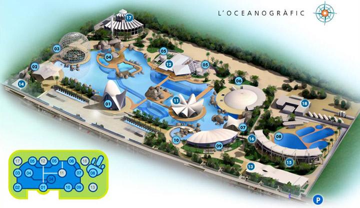 Oceanografic valencia for Hotel oceanografic ninos
