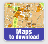 Valencia tourist city maps Spain