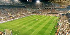 Valencia CF Mestalla Football Stadium