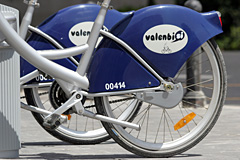 Valencia city bicycles | Valenbisi